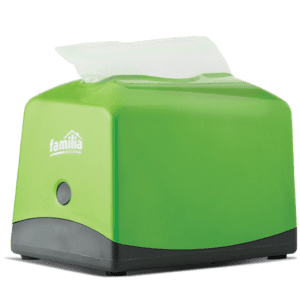 Dispensador de servilletas verde plus 100 - Familia Institucional