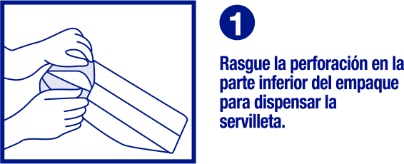 Paso 1 dispensador - Familia Institucional