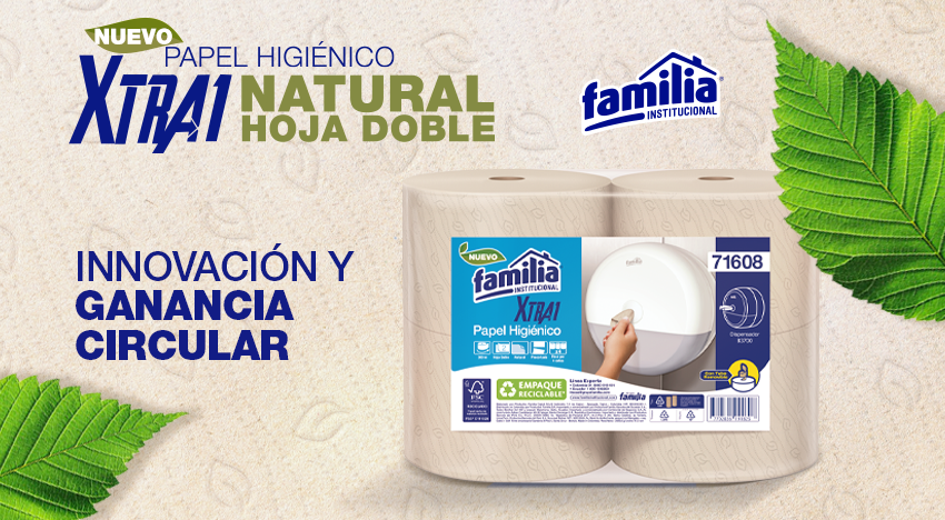 Papel Higiénico Xtra1 natural